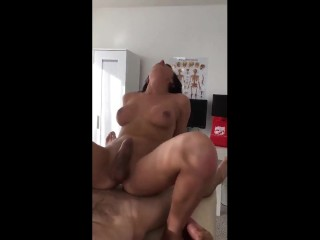 gorgeous ts takes it in the ass