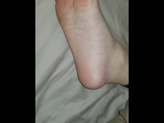 Ex's sleeping drunk feet