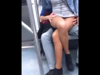 Drunk subway feel
