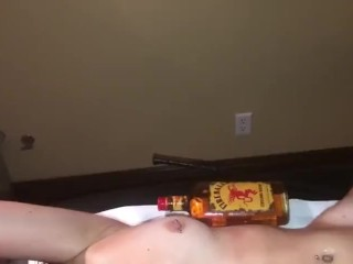 sexy drunk asian ties up and eats her friends cunt