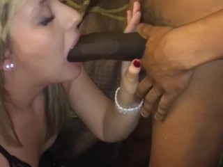 drunk fiance does not realize that blows in the husband and stud
