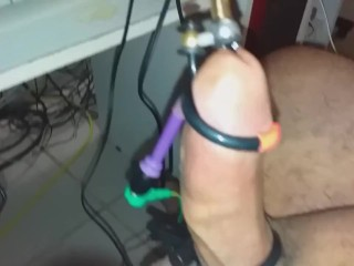 meat Torture. ELECTRIC INSERTION