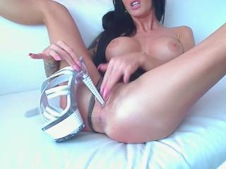 Awesome Camgirl High Heel Licking & vagina Insertion - LoversHeels@pornhub