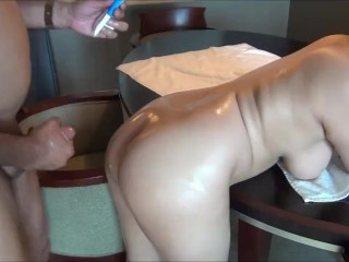 HORNYCAMSPW. - wide chinese booty Virgin Quick Anal Insertions