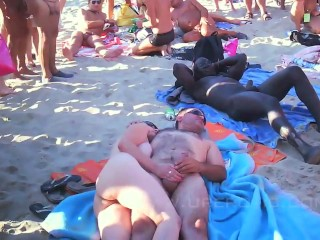 Compilation of beach sex