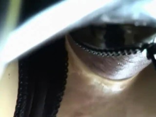 Live Rubber Sex Doll licks and sexed