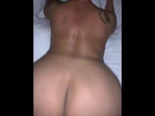 50 Year cougar Throwing wide butt On BBC