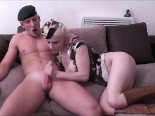 LUKE HARDY - Mila Milan Gets Command-Ho Help From A True Vet