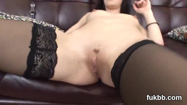 Kinky honey stretches her pussy and loves hardcore fucking