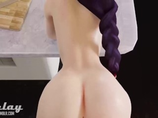 3D Hentai - Best Compilation ever! D.va Overwatch and others. FUCKFEST!