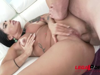 Huge butt latina slut Monica Santiago loves brutal anal fucking SZ1474