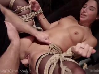 Massive Cock Punishes Massive Slut