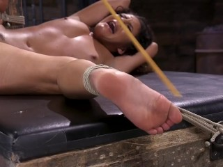 Liv Revamped is captured and tormented by in grueling bondage by The Pope