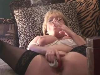 Smoking Fetish Mature Goddess Gets Off On Her Heavenly Nicotine & Kink
