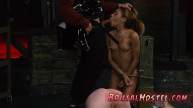 Brazilian brutal orgy sexual subordination and brutal bondage!