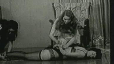 Betty Page Lesbian Bondage