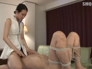Japanese massage femdom part1