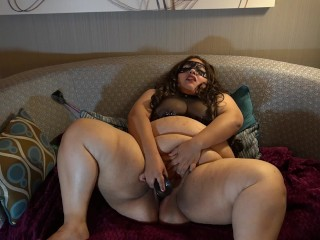 BBW BDSM Princess Whipped and Fucked