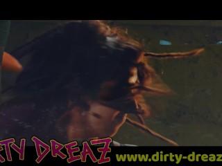 Dirty Dreaz - Sugar - Female orgy ink tattoo dreadlocks hippie girls bdsm