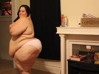 ssbbw sack of fat waddling around