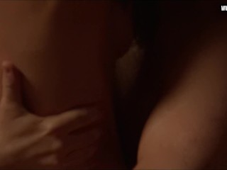 Lizzy Caplan - Sex in front of others, perky boobs, old & young