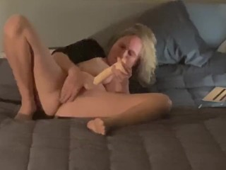Caught filmed milf roommate masturbating Watching porn