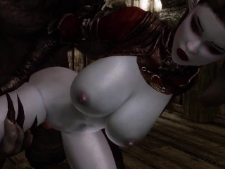 Female Monster Hunter Takes On More Than She Can Handle Skyrim Porn
