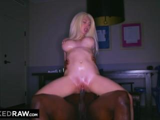 BLACKEDRAW Blonde GF is addicted to BBC
