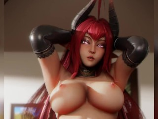 Succubus Cowgirl Pov (Animation W/Sound)