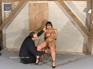 Asian needle bdsm of busty japanese Tigerr Juggs in extreme piercing tortur