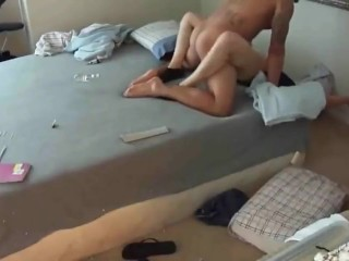 Crazy stepsis gets rough drilled by her stepbrother with monster cock