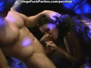 Wild sex party with crazy blow job