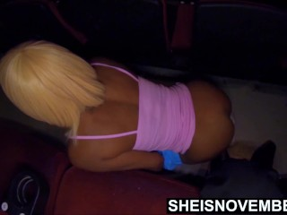 My ebony Bootyhole Molested By My Mother Freaky fiance On Theater Floor HD