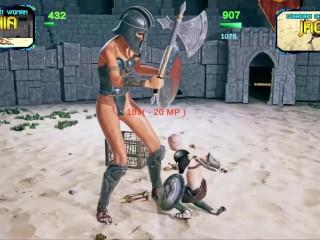 Secrets of Trampling - Galactic Gladiator (Giantess And Shrink)