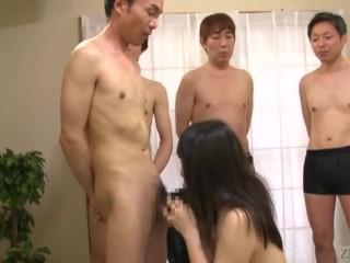 CLOWN WARNING Subtitled Japanese bizarre oral sex lineup