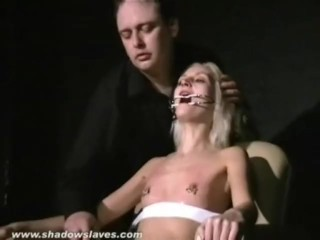 blondy submissives bizarre facial torture and gagged slavegirls extreme sm