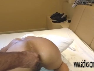 Double anal fisting and bizarre insertions amateur