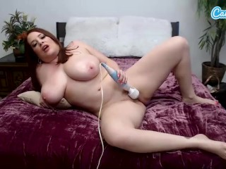 Camsoda - Horny Maggie Green first time on Webcam Masturbation