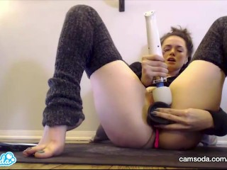 CamSoda - Tori Black Masturbates till she Squirts