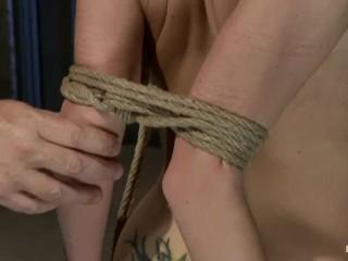 BDSM TEEN NYMPHO ENDURES TRAINING DAY (PART2)