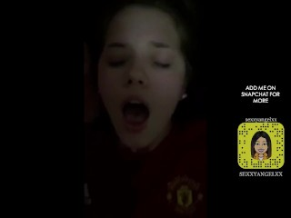 Leaked private sex video of an United fan on Snapchat