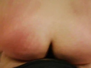 My last pre coronavirus trip: Italian amateur butt plug ride.