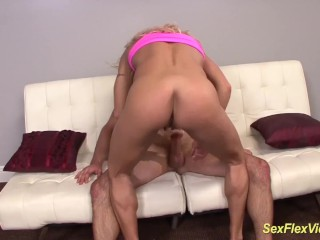 flexible muscle milf brutal contortion fucked