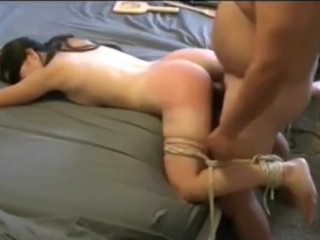Step Daddy-daughter couple bdsm play 2