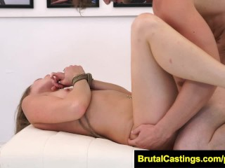FetishNetwork Kirsten Lee brutal casting BDSM humilation domination casting