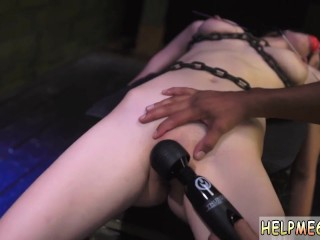 Brutal anal bdsm fuck and slave girl licked girls pussy and finger fuck