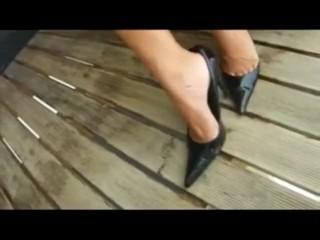 Best of Heel Job & Cum on Heels - Heelslovers@pornhub