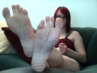 Babe Wrinkled Soles Wants Your Cum - LoversHeels@Pornhub
