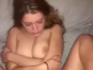 Cute Teen Cumming so much hard with my cock