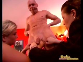 Ballbusting BDSM Has Never Looked So Painful Brutale-Unterweisung